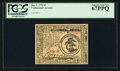 Colonial Notes:Continental Congress Issues, Continental Currency May 9, 1776 $3 PCGS Superb Gem New 67PPQ.. ...