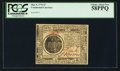Colonial Notes:Continental Congress Issues, Continental Currency May 9, 1776 $7 PCGS Choice About New 58PPQ.....