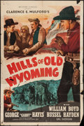 "Movie Posters:Western, Hills of Old Wyoming & Other Lot (Screen Guild Productions, R-1946). One Sheets (2) (27"" X 41""). Western.. ... (Total: 2 Items)"