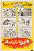 """Movie Posters:Horror, A Bucket of Blood (American International, 1959). One Sheet (27"""" X 41""""). Horror.. ..."""