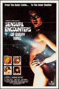 "Movie Posters:Adult, Sensual Encounters of Every Kind & Other Lot (Essex, 1978). One Sheets (2) (27"" X 41""). Adult.. ... (Total: 2 Items)"