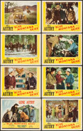 "Movie Posters:Western, Blue Montana Skies (Republic, R-1945). Lobby Card Set of 8 (11"" X14""). Western.. ... (Total: 8 Items)"