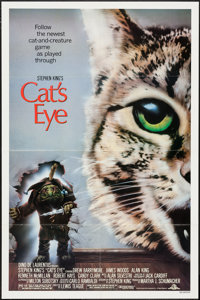 "Cat's Eye & Others Lot (MGM/UA, 1985). One Sheets (17) (27"" X 41""), Video One Sheets (6) (26.5"" X..."