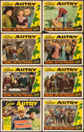 """Movie Posters:Western, Home on the Prairie (Republic, 1939). Lobby Card Set of 8 (11"""" X14""""). Western.. ... (Total: 8 Items)"""