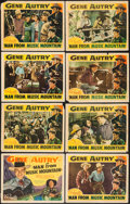 "Movie Posters:Western, Man from Music Mountain (Republic, 1938). Lobby Card Set of 8 (11"" X 14""). Western.. ... (Total: 8 Items)"