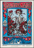 "Movie Posters:Rock and Roll, The Grateful Dead Avalon Ballroom Skeleton and Roses (Family Dog,1966). Reprint Concert Poster (14.25"" X 20"") . Rock and Ro..."