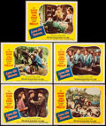 "Movie Posters:Elvis Presley, Love Me Tender (20th Century Fox, 1956). Lobby Cards (5) (11"" X 14""). Elvis Presley.. ... (Total: 5 Items)"