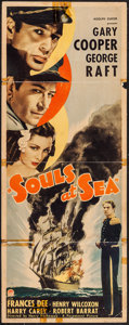 "Movie Posters:Adventure, Souls at Sea (Paramount, 1937). Insert (14"" X 36""). Adventure.. ..."