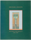 Books:Art & Architecture, Michael Graves. Buildings and Projects: 1982-1989. Princeton Architectural Press, [1990]....