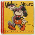 Big Little Book:Cartoon Character, Big Little Book #717 Mickey Mouse - Second Edition (Whitman, 1933)Condition: VG....