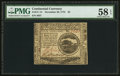 Colonial Notes:Continental Congress Issues, Continental Currency November 29, 1775 $4 PMG Choice About Unc 58 EPQ.. ...