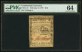 Colonial Notes:Continental Congress Issues, Continental Currency February 17, 1776 $1/2 PMG Choice Uncirculated 64.. ...