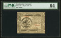 Colonial Notes:Continental Congress Issues, Continental Currency May 9, 1776 $5 PMG Choice Uncirculated 64.....