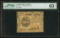 Colonial Notes:Continental Congress Issues, Continental Currency July 22, 1776 $7 PMG Choice Uncirculated 63Net.. ...