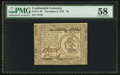 Colonial Notes:Continental Congress Issues, Continental Currency November 2, 1776 $3 PMG Choice About Unc 58.....