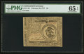 Colonial Notes:Continental Congress Issues, Continental Currency February 26, 1777 $3 PMG Gem Uncirculated 65EPQ.. ...