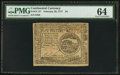 Colonial Notes:Continental Congress Issues, Continental Currency February 26, 1777 $4 PMG Choice Uncirculated 64.. ...
