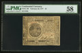 Colonial Notes:Continental Congress Issues, Continental Currency February 26, 1777 $7 PMG Choice About Unc 58.....