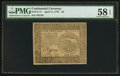 Colonial Notes:Continental Congress Issues, Continental Currency April 11, 1778 $4 PMG Choice About Unc 58EPQ.. ...