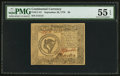 Colonial Notes:Continental Congress Issues, Continental Currency September 26, 1778 $8 PMG About Uncirculated55 EPQ.. ...