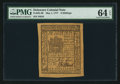 Colonial Notes:Delaware, Delaware May 1, 1777 6s PMG Choice Uncirculated 64 EPQ.. ...