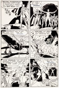 "Original Comic Art:Panel Pages, Wally Wood and Dan Adkins T.H.U.N.D.E.R. Agents #1 ""At theMercy of the Iron Maiden"" Page 8 Dynamo and Noman Origi..."