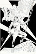 Original Comic Art:Covers, Dave Stevens Rocketeer: The Official Movie Adaptation #1Cover Original Art (Disney, 1991)....