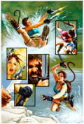 Original Comic Art:Panel Pages, Joe Jusko Tomb Raider: The Greatest Treasure of All #1 Page33 Original Art (Top Cow/Image, 2005). ...