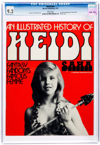 An Illustrated History of Heidi Saha #nn (Warren, 1973) CGC NM- 9.2 White pages