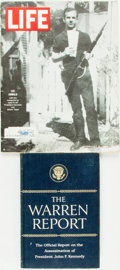 Books:Americana & American History, [Kennedy Assassination]. [Lee Harvey Oswald]. The WarrenReport. Report of the President's Commission on the...(Total: 2 Items)