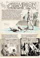 "Al Williamson Valor #2 ""The Champion"" Complete 7-Page Story Original Art (EC, 1955).... (Total: 7 Original Art..."
