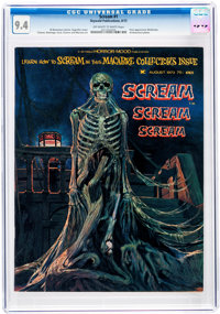 Scream #1 (Skywald, 1973) CGC NM 9.4 Off-white to white pages