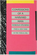 Books:Biography & Memoir, Hugh Ford, editor. Kay Boyle, preface. SIGNED. Harold Stearns.Confessions of a Harvard Man. Sutton West: The Paget ...