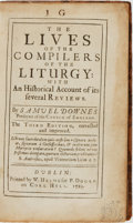Books:Religion & Theology, Samuel Downes. The Lives of the Compilers of the Liturgy: with an Historical Account of its Several Reviews. Dub...