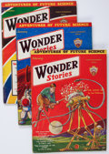 Pulps:Science Fiction, Wonder Stories Group of 7 (Standard, 1932-33) Condition: AverageVG+.... (Total: 7 Items)
