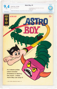 Astro Boy #1 (Gold Key, 1965) CBCS NM 9.4 White pages