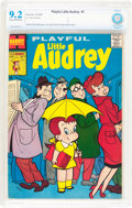 Silver Age (1956-1969):Humor, Playful Little Audrey #1 (Harvey, 1957) CBCS NM- 9.2 Cream to off-white pages....