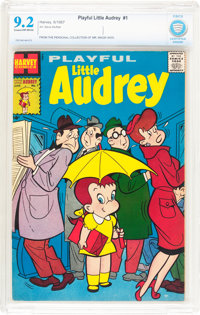 Playful Little Audrey #1 (Harvey, 1957) CBCS NM- 9.2 Cream to off-white pages