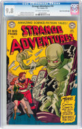 Golden Age (1938-1955):Science Fiction, Strange Adventures #10 Mile High Pedigree (DC, 1951) CGC NM/MT 9.8Off-white to white pages....