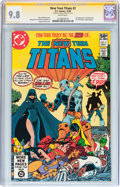 Modern Age (1980-Present):Superhero, New Teen Titans #2 Signature Series (DC, 1980) CGC NM/MT 9.8 White pages....