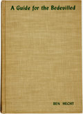 Books:Non-fiction, Ben Hecht. A Guide for the Bedevilled. New York: Chrales Scribner's Sons, 1944....
