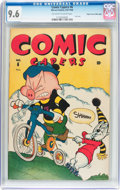 Golden Age (1938-1955):Funny Animal, Comic Capers #6 Mile High Pedigree (Red Circle/Marvel, 1946) CGCNM+ 9.6 Off-white to white pages....