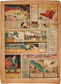 Golden Age (1938-1955):Superhero, Action Comics #1 Pages Including Entire First Superman Story (DC, 1938)....
