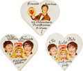 Music Memorabilia:Memorabilia, A Charming Group of 80 German Lebkuchen Labels Featuring the Beatles (Germany, 1964)....