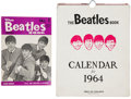 Music Memorabilia:Memorabilia, Beatles Book Monthly No. 1 (August 1963) and 1964 Calendar(UK, 1963)....