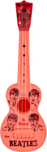 Music Memorabilia:Memorabilia, Beatles Jr. Vintage Toy Guitar by Mastro (NEMS, 1964). ...