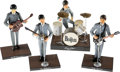 Music Memorabilia:Memorabilia, Beatles Doll Set with Instruments and Bases by Hamilton Gifts(Apple, 1991)....