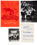 Music Memorabilia:Memorabilia, A Group of Liverbirds Items (Germany and Japan, 1960s)....