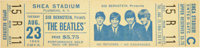 Beatles Unused Shea Stadium Concert Ticket (US, 1966)