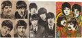 Music Memorabilia:Posters, A Group of Beatles Music Store Signs By Odeon (Germany 1960s).... (Total: 3 Items)